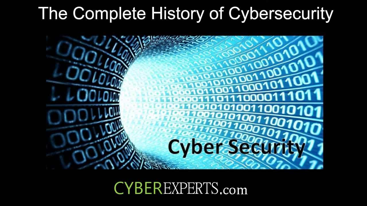 History of Cybersecurity