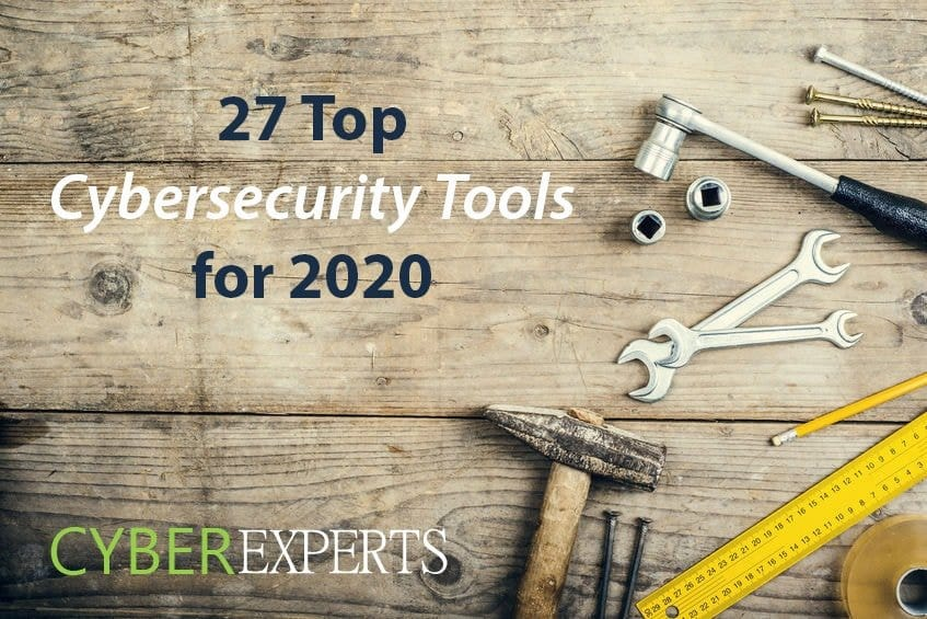 27 Top Cybersecurity Tools for 2020