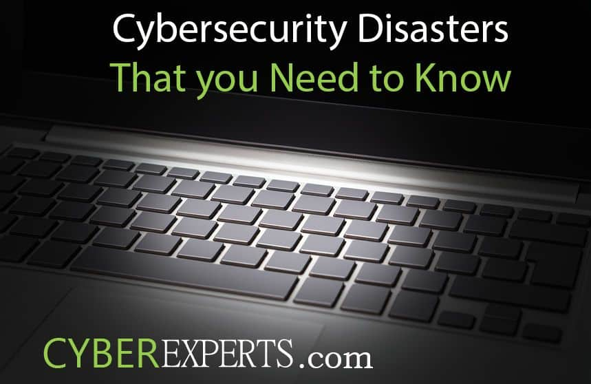 Cybersecurity Disasters