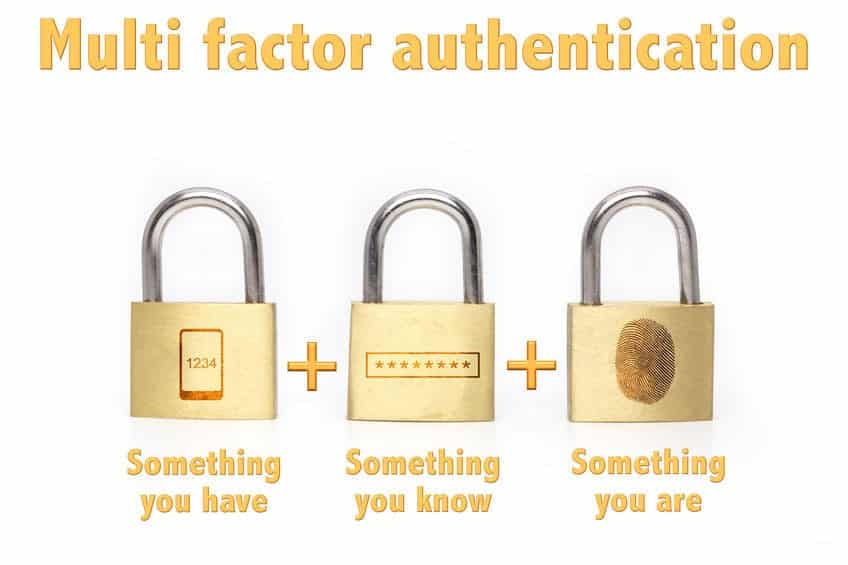 Multi Factor Authentication (MFA)