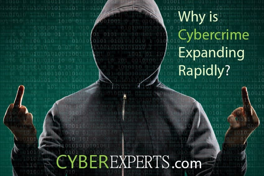 Why is cybercrime expanding rapidly