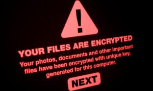 Ransomware Types of malware attacks