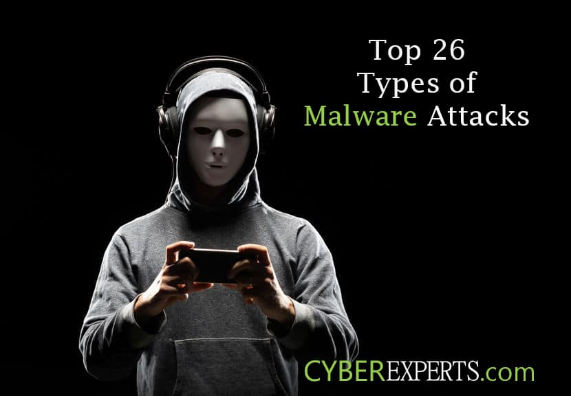 Top 26 Types of Malware Attacks