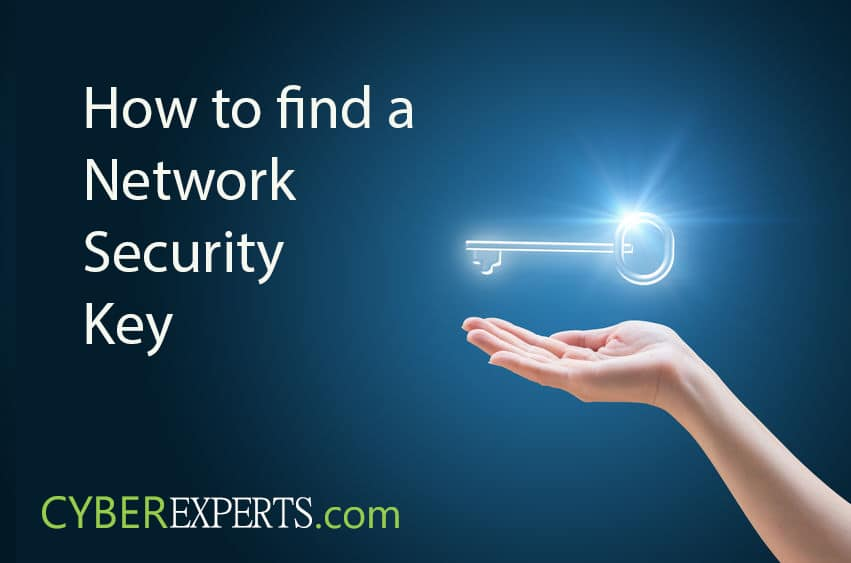 How to find a Network Security Key